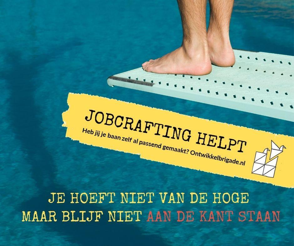 Je hoeft niet van de hoge - jobcrafting helpt